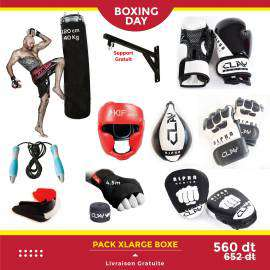 BOX-XL-PACK XLARGE BOXE-lesportifPACK XLARGE BOXE DERBY CLAY Accessoires 560.00 DT