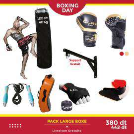 BOX-L-PACK LARGE BOXE-lesportifPACK LARGE BOXE DERBY CLAY Accessoires 380.00 DT